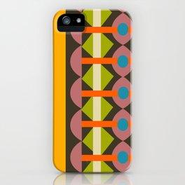 Quilt Geo iPhone Case