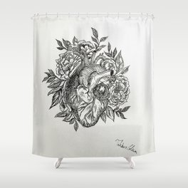 Flowers of your Love Shower Curtain