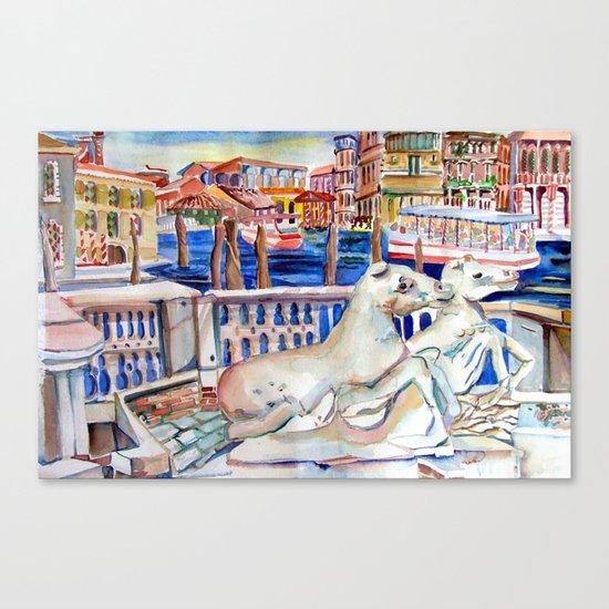 Grand Canal Venice Italy Canvas Print