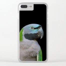 Lord Derby's parakeet Clear iPhone Case