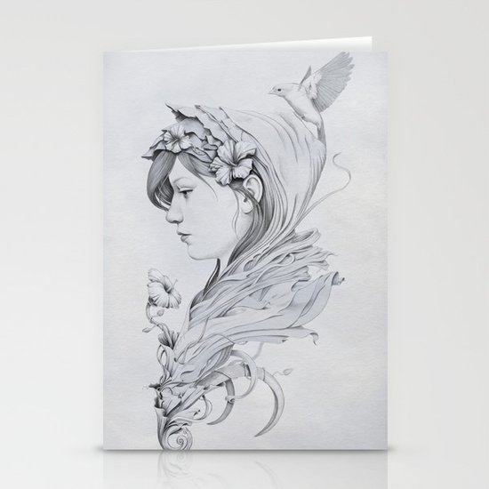 Hooded Stationery Cards