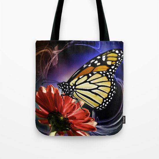 Butterfly Summer Dance  Tote Bag