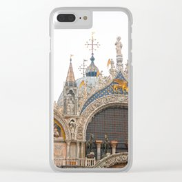 St Mark Clear iPhone Case