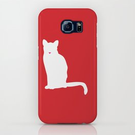 Cat Silhouettes: American Shorthair iPhone Case