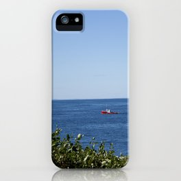 The Red Boat iPhone Case