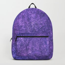 Hidden in a Forest of Purple Backpack