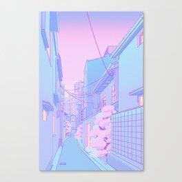 Osaka Morning Canvas Print