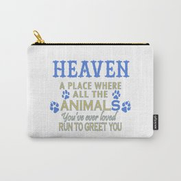 Heaven A Place Carry-All Pouch