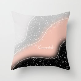 Icelandic Magical Stave - Kaupaloki  Throw Pillow
