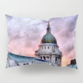 Old Bailey in London Pillow Sham