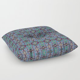 Overshot Pattern Floor Pillow