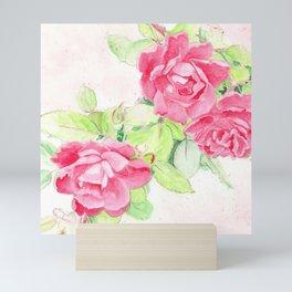 Cafe Roses Mini Art Print