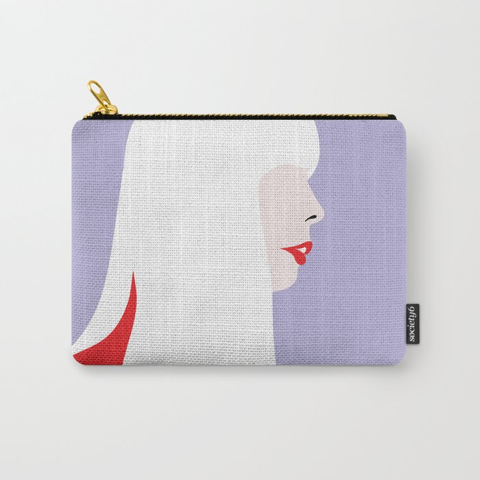 Joni Mitchell (red) Carry-All Pouch