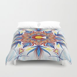 Colorado Mandala  Duvet Cover