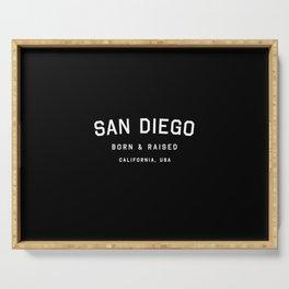San Diego - CA, USA (Arc) Serving Tray