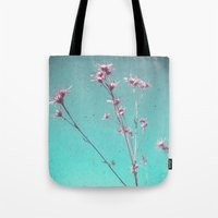 alone Tote Bags featuring Alone by Cassia Beck