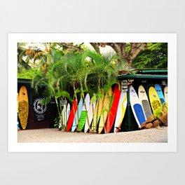 North Shore Surf '14 Art Print