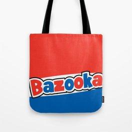 Bazooka retro bubble chewing gum Tote Bag