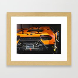 Performante Transport Framed Art Print