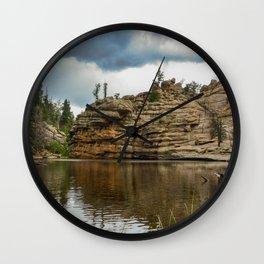 Gem Lake Wall Clock