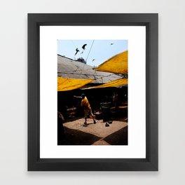 Mumbai Kites Framed Art Print