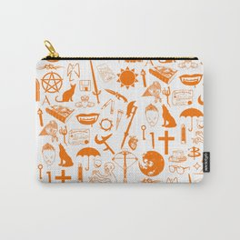Buffy Symbology, Orange Carry-All Pouch