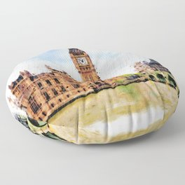 London Calling Floor Pillow
