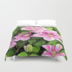 Clematis Duvet Cover