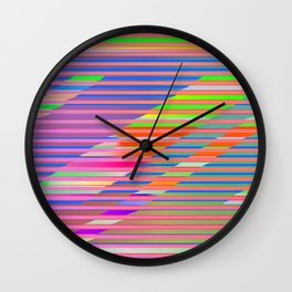 Play with stripes  12 Wall Clock