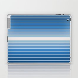 Gradient Arch - Classic Blue Tones Laptop & iPad Skin