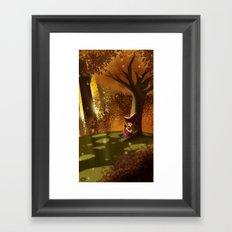 Autumn Approaches Framed Art Print