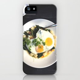 Eggs on Top iPhone Case