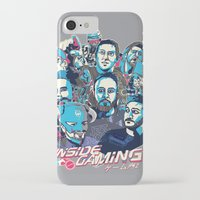 gaming iPhone & iPod Cases featuring Inside Gaming by MikeRush