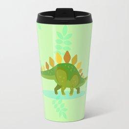 Stegosaurus, Dude Carried His Kitchenware on His Back Travel Mug