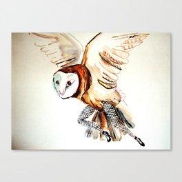 Owl Legs Canvas Print