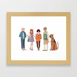 hipsterscoobydoo Framed Art Print