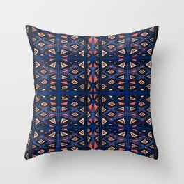Abstract pattern geometric backgrounds  Throw Pillow