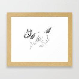 Canis putidus Framed Art Print