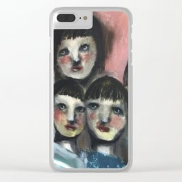 My gang Clear iPhone Case