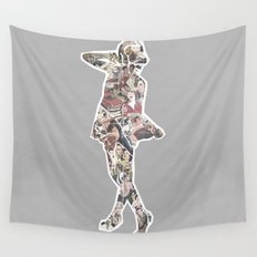 Ads Wall Tapestry