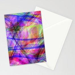 Color mayhem Stationery Cards