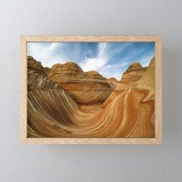 The Wave-Paria Wilderness Framed Mini Art Print