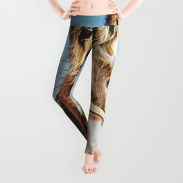 Donkey photo Leggings