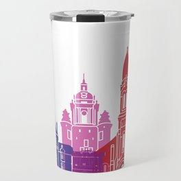 La Rochelle skyline pop Travel Mug