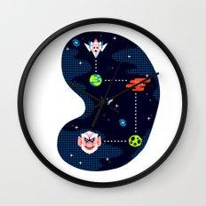 Overworld: Space Wall Clock