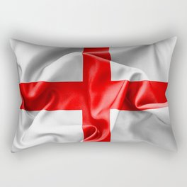 English St Georges Cross Flag Rectangular Pillow