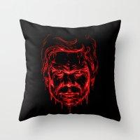 The Dark Passenger Throw Pillow