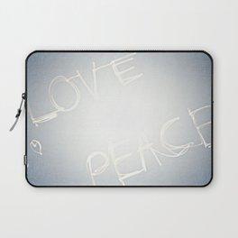Love + Peace Laptop Sleeve