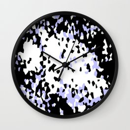 Crystallize 1 Wall Clock