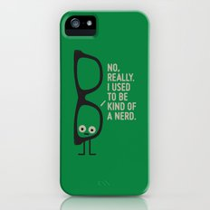 Nerd Is the New Black Slim Case iPhone SE
